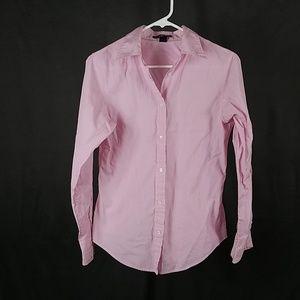 3 for $12- Gap pink stripe  Blouse sz 6